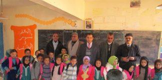 أطفال أوزيغمت بإقليم تنغير في يوم دافئ: هبات ومساعدات تصل المنطقة