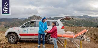 فيديو.. تقديم مؤسسة عطاء الخيرية لسيارة إسعاف لإحدى المناطق الجبلية بإقليم تازة