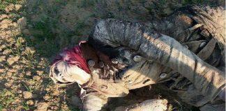 العثور على جثتين لنازحين كانا عالقين بالثلوج على الحدود اللبنانية مع سوريا