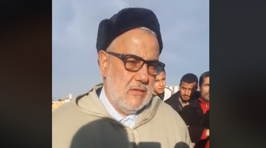 فيديو.. كلمة لبنكيران في جنازة الدكتور التهامي الراجي -رحمه الله-