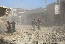 بيان بسطور فارغة من اليونيسيف لوصف معاناة الغوطة