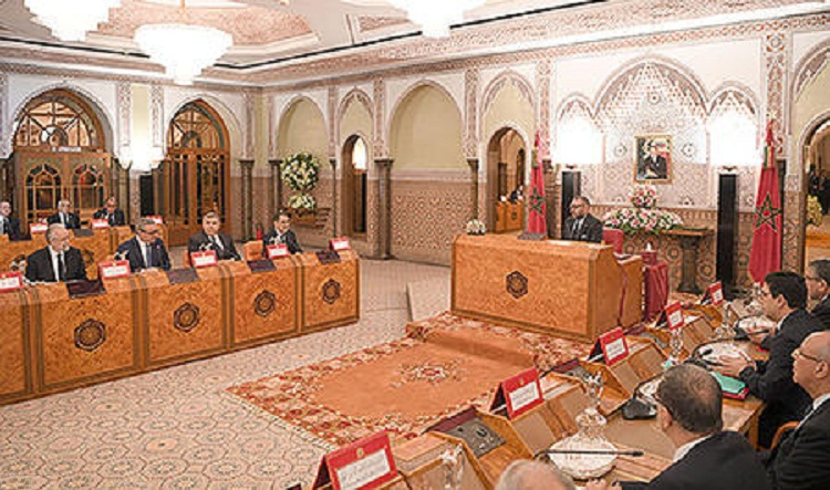 الملك يترأس بالرباط مجلسا للوزراء حول سياسة الدولة في مجال اللاتمركز وقطاع التربية والتكوين والخدمة العسكرية