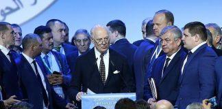 """اختتام مؤتمر الحوار السوري في سوتشي بتشكيل لجنة لـ""""صياغة إصلاح دستوري"""""""