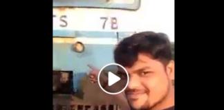 فيديو.. أراد التقاط سيلفي مع قطار فصدمه صدمة خطيرة!!