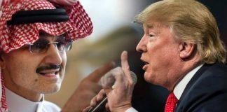 """""""ديلي ميل"""": هذا موقف ترامب مما يحدث للوليد بن طلال في السعودية"""