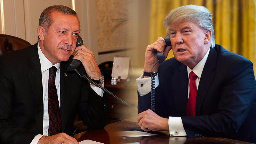 أردوغان وترامب يبحثان مستجدات الأوضاع في إدلب