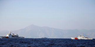 """الأركان التركية: إحباط محاولة دخول سفينة وزير الدفاع اليوناني إلى جزر """"كارداك"""""""