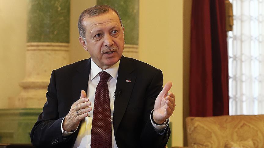 الرئيس أردوغان: النظام الدولي يتصدع
