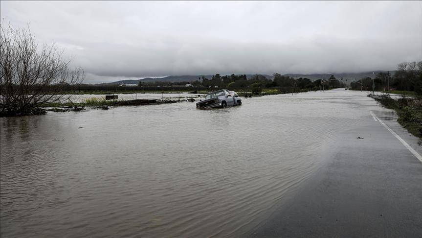 الفيضانات تهدد 3 ولايات أمريكية