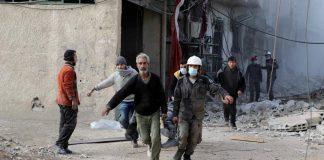 الدفاع المدني السوري: مقتل ألف و433 مدنيًا في الغوطة الشرقية منذ 19 فبراير