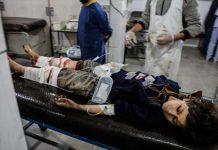مقتل 32 مدنيًا في هجمات لقوات الأسد على الغوطة الشرقية السبت