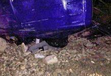 صورة اليوم المؤلمة من حادثة طنجة.. بعد اصطدام سيارتهم بقطار