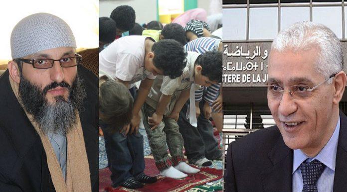 ذ. طارق الحمودي يوجه رسالة مفتوحة لوزير الشباب والرياضة الطالبي العلمي بعد انتقاده صلاة الفجر في المخيمات