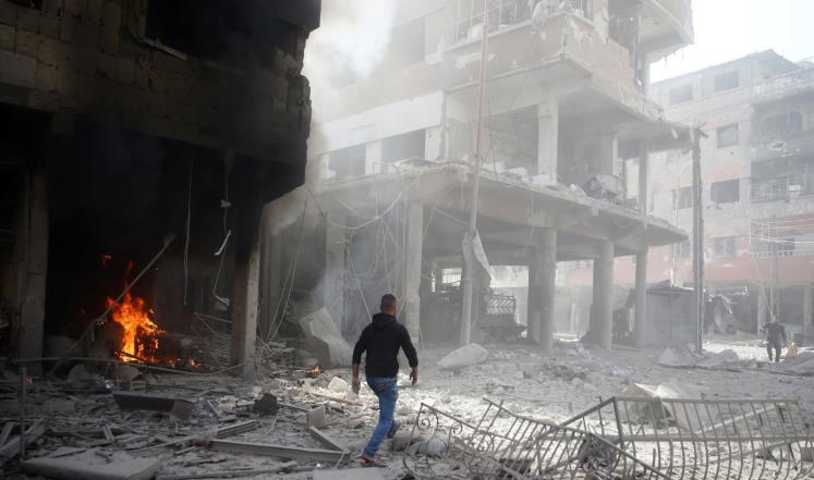 """الشبكة السورية: مقتل 1109 مدنيين خلال عام من خروقات """"خفض التصعيد"""" بإدلب"""