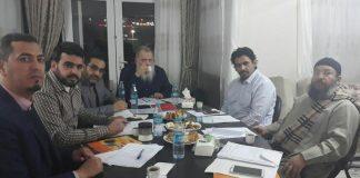 اللجنة المشتركة تشارك بتركيا في اجتماع الرابطة العالمية للحقوق و الحريات بصفتها عضوا مؤسسا