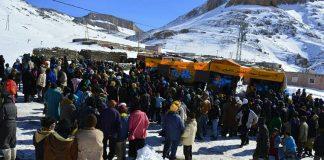 موجة البرد القارس.. استفادة نحو 44 ألف أسرة من عملية توزيع المؤن الغذائية والأغطية