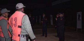 فيديو.. تداريب عناصر الشرطة على الرماية في الظلام