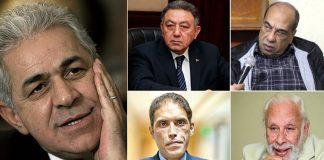 اتهام 13 شخصية مصرية بالتحريض لقلب نظام الحكم