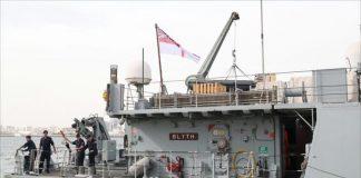 وصول سفن حربية بريطانية إلى قطر