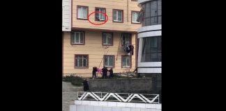 فيديو.. إنقاذ طفل من عاقبة سقوط خطير من الطابق الثالث لإحدى البنايات