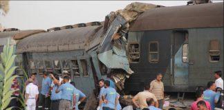 ارتفاع ضحايا تصادم قطارين إلى 15 قتيلا و40 مصابًا بمصر