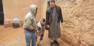 شاهد عجوزا من المغرب المنسي لا تعرف اليوم العالمي للمرأة 8 مارس