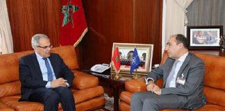 لوديي يستقبل الأمين العام المساعد لحلف شمال الأطلسي أليخاندرو ألفارغونزاليس