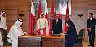 الرباط: توقيع عدة اتفاقيات تعاون بين المغرب وقطر