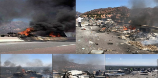بالفيديو والصور.. ستة قتلى في حادثة سير مفجعة بالطريق السيار أكادير-مراكش