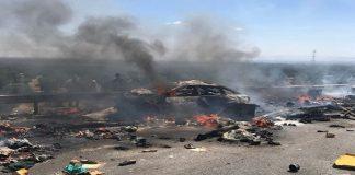 فيديو آخر.. لكارثة طريق السيار قرب أكادير .. وفاة راكبين حرقا داخل مركباتهم