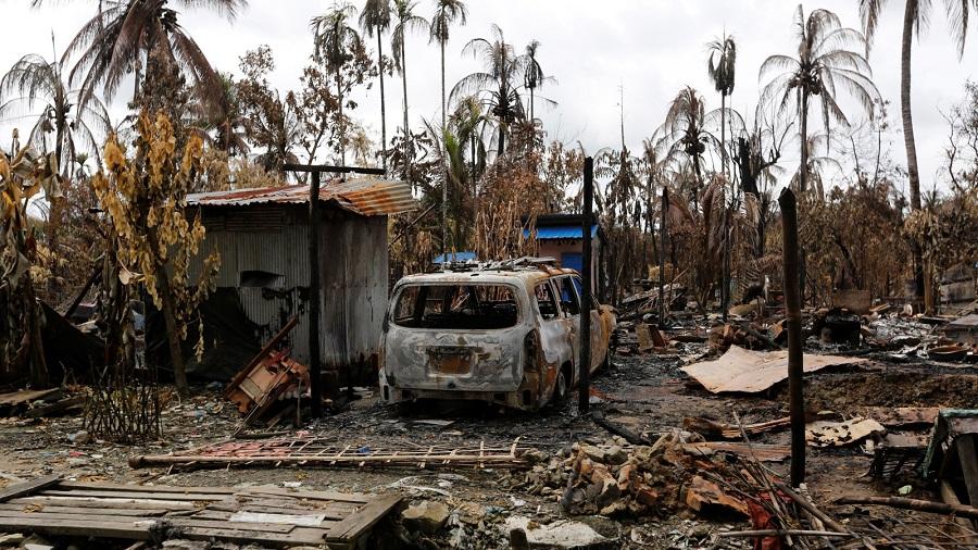 مسؤول أممي: ميانمار دمرت 319 قرية للمسلمين الروهنغيا جزئيًا أو كليًا
