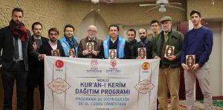 تركيا تهدي 3 آلاف نسخة من القرآن الكريم إلى مسلمي إسبانيا
