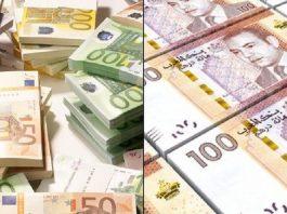 بنك المغرب: تحسن قيمة الدرهم مقابل الأورو بنسبة 0,23 في المئة