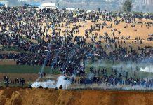 مئات القتلى والجرحى في مجزة إسرائيلية بقطاع غزة