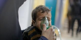 إصابة عشرات المدنيين في استهداف النظام للغوطة الشرقية بالغازات السامة