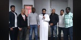 فيديو.. مسلم جديد، ثبته الله على الحق (أنطقه الشهادتين ذ. هشام المدغري)