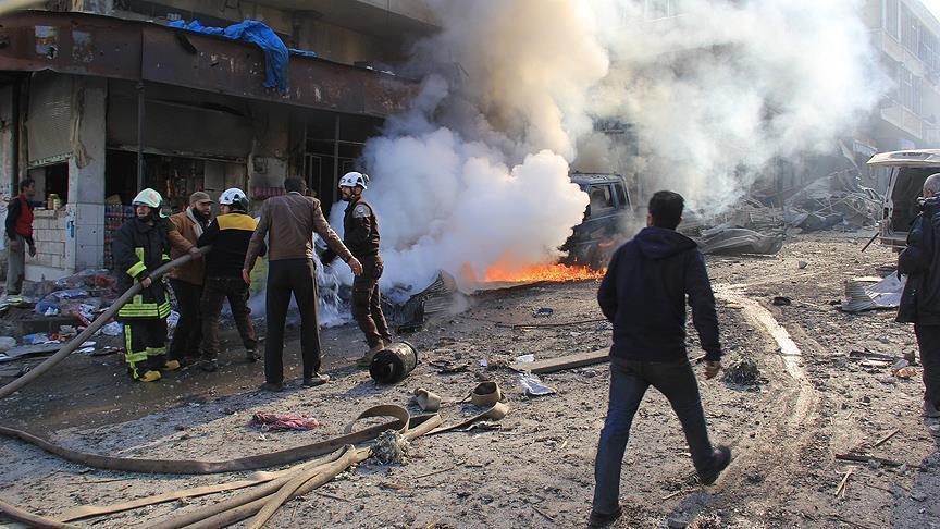 مقتل 4 مدنيين في هجوم للنظام السوري على إدلب