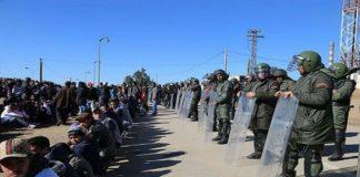 """تجدد المظاهرات في """"جرادة"""" والساكنة تدعو للاستجابة لمطالبها، والابتعاد عن المعالجة الأمنية للأزمة"""