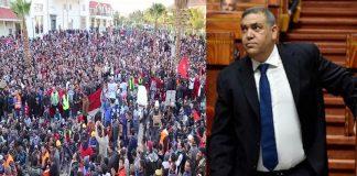 """وزير الداخلية يتهم أطرافا سياسية وحقوقية بـ""""تأجيج"""" احتجاجات جرادة"""