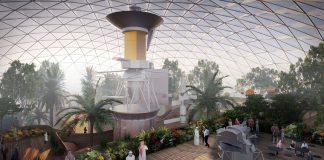 """الإمارات تقول إنها تطور """"أكبر مدينة فضائية"""" على الأرض"""