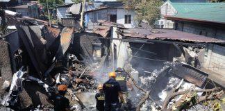 الفلبين.. مصرع 10 أشخاص بسقوط طائرة ركاب صغيرة فوق منزل