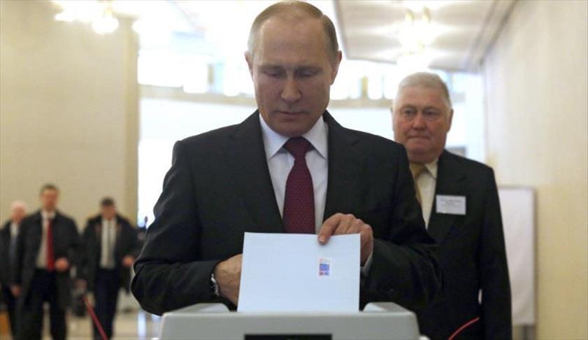 بعد فرز نحو ثلث الأصوات.. بوتين يتصدر الرئاسيات بـ73%