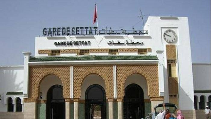حريق بمحطة القطار بسطات والـ ONCF يوضح