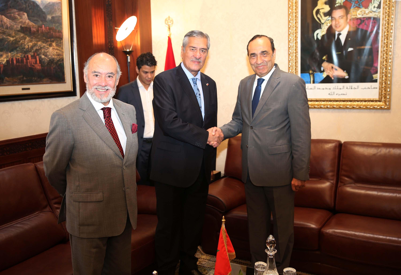 رئيس برلمان مجموعة دول الأنديز يدعم الوحدة الترابية للمملكة