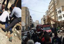 بالفيديو والصور.. سقوط رافعة ضخمة بالمعاريف بالدار البيضاء، مخلفة خسائر مادية كبيرة وإصابات خطيرة
