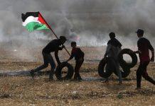شهيد و109 مصابين برصاص صهيوني قرب حدود غزة