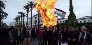 """وقفة في الرباط أمام البرلمان لمساندة """"مسيرة العودة الكبرى"""" في غزة.. والتنديد بالقتل الصهيوني"""