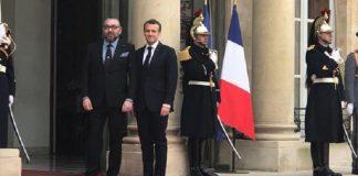 الملك محمد السادس يلتقي الرئيس الفرنسي إيمانويل ماكرون بقصر الإيلزيه
