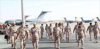 """قطر تشارك بتمرين """"درع الخليج"""" بالسعودية"""
