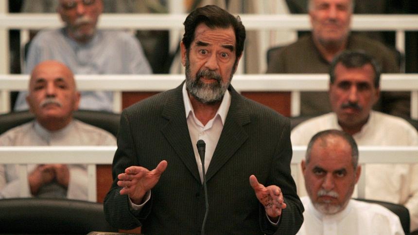 فيديو نادر بصوت الرئيس صدام حسين يعرض للمرة الاولى
